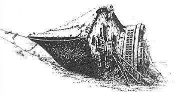DRAWING OF SHIP BY CLARRIE LAWLER